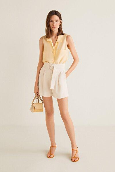 Kadın Sarı Bluz 41017764