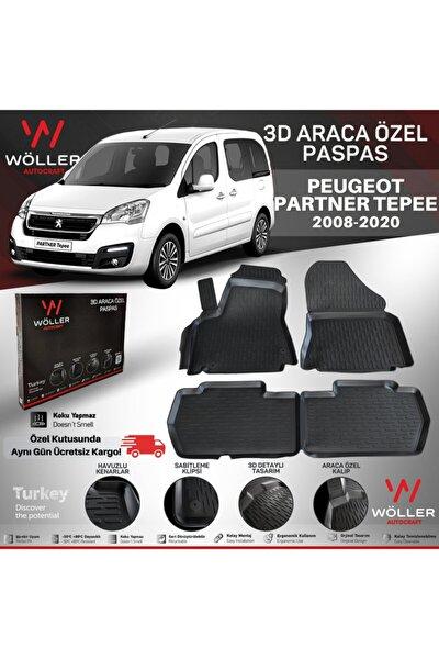 Peugeot Partner Paspas 2008 2019 Arası 3d Havuzlu Paspas