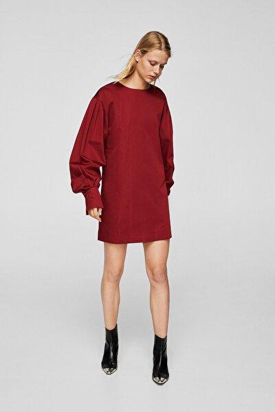 Kadın Bordo Elbise 23040616