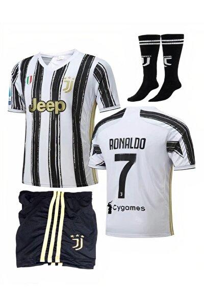 2021 Juventus Ronaldo Forma+şort+çorap