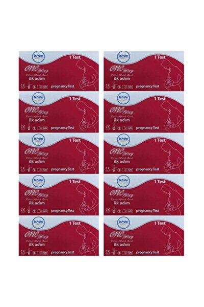 Hızlı Gebelik Testi Kaset Test X 10 Adet (Hamilelik Testi)