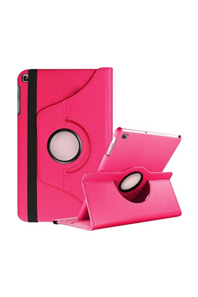Pembe Galaxy Tab A 10.12019 T510 Tablet Kılıf Dönebilen Standlı Kılıf