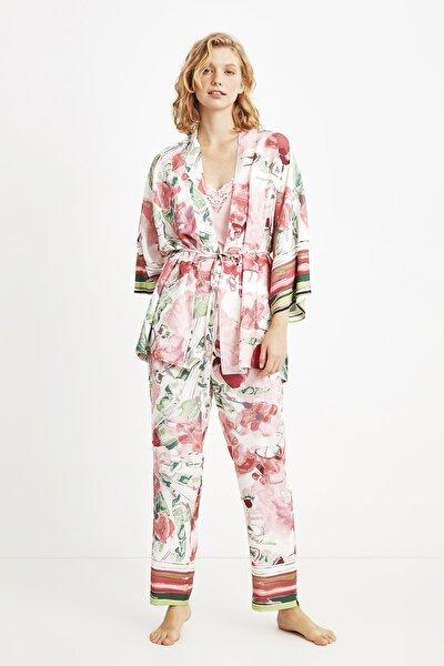 9019 Üçlü Pijama Takım