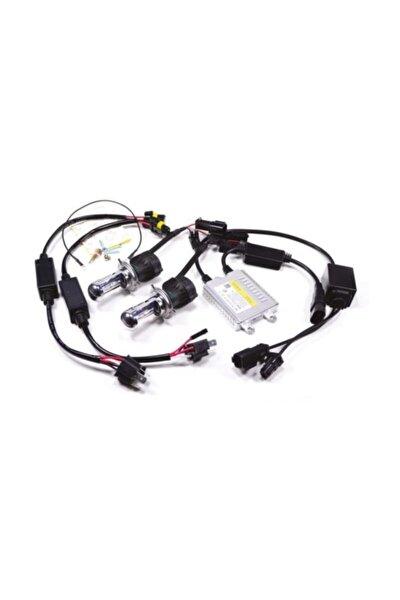 H4 6000k H/l Xenon Set