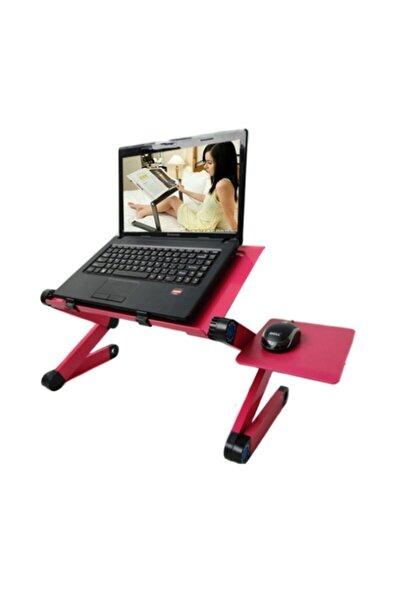 Yükseklik Ayarlı Portatif Katlanabilir Laptop,ipad Sehpası Stand