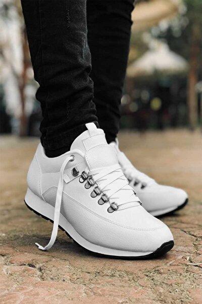 Tam Ortopedik Beyaz Trend Erkek Spor Ayakkabı