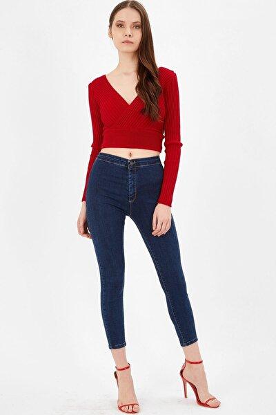 Cepsiz Yüksek Bel Pantolon