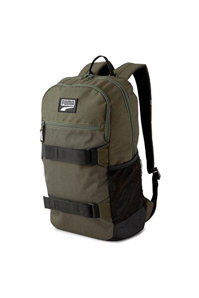 Unisex Haki  Sırt Çantası - Deck Backpack Forest Night - 07690508