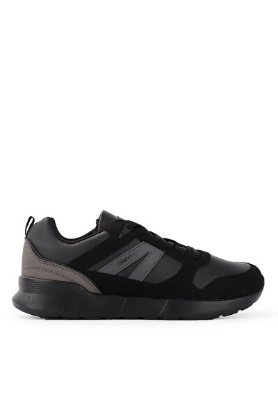 SHELL I Sneaker Erkek Ayakkabı Siyah / Siyah SA20RE088