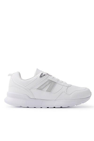 SHELL I Sneaker Erkek Ayakkabı Beyaz / Gri SA20RE088
