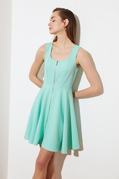 Mint Fermuarlı Elbise TWOSS21EL2124