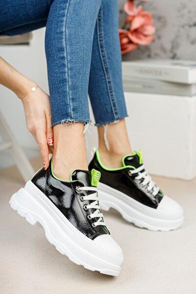 Siyah Rugan Sneaker