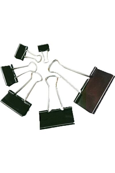 Metal Klips 15 Mm 12 Li Rbs-954-6 (1 Paket 12 Adet)