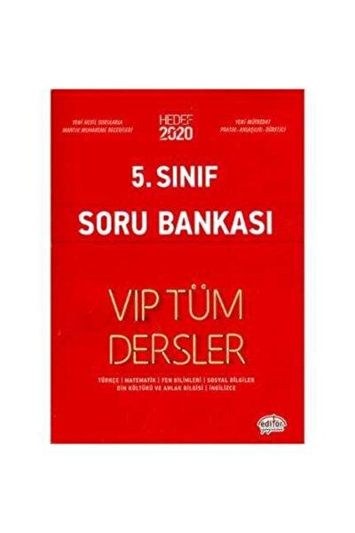 5. Sınıf Vıp Tüm Dersler Soru Bankası Kırmızı