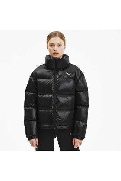 Kadın Siyah Shıne Down Ceket