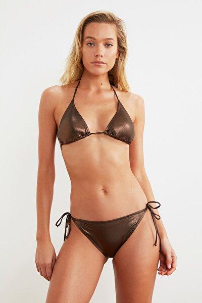 Bronz Parlak Bikini Altı TBESS21BA0362