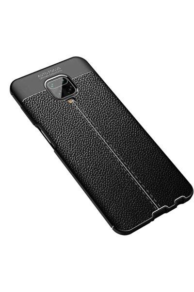 Xiaomi Redmi Note 9 Pro Kılıf Zore Niss Silikon Renk Siyah