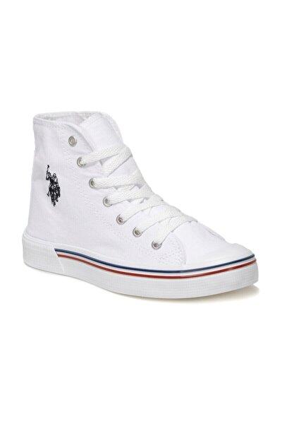 PENELOPE HIGH 1FX Beyaz Kadın Havuz Taban Sneaker 100910633