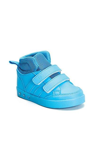 Oyo Çift Cırtlı Işıklı Spor Ayakkabı Mavi