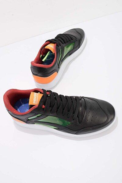 Siyah Turuncu Erkek Sneaker E01871000209