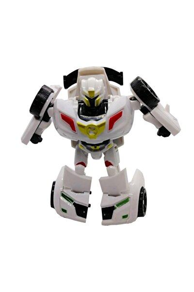 Esa1 Mini Y3 Beyaz Tobot Transformers Stil Dönüşebilir Oyuncak Araç