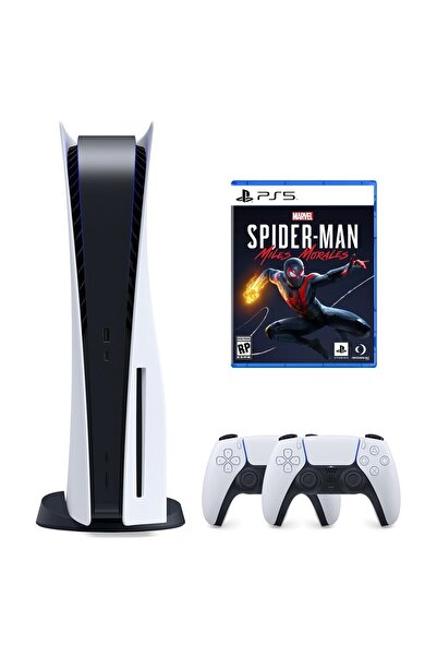 Playstation 5 825 GB + 2. PS5 DualSense + PS5 Marvel's Spider-Man: Miles Morales