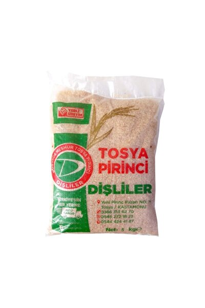 Dişliler Tosya Pirinci 5 Kg.