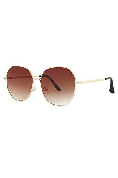 Kahverengi Degrade Kadın Güneş Gözlüğü Apss038901