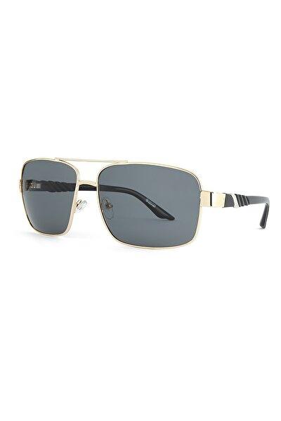 Basic Altın Erkek Güneş Gözlüğü Apss034001