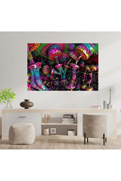 Duvar Halısı Mantar Renkli Tonlar 70x100 Cm