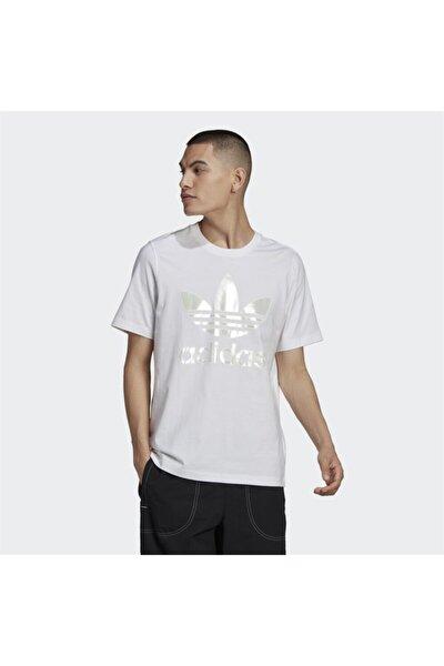 Erkek  Trefoil Holographic T-Shirt