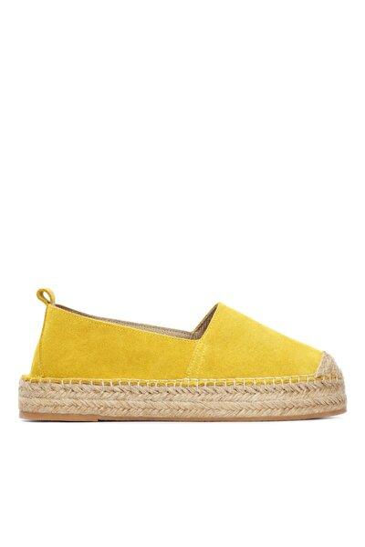 Kadın Derı Espadril Ayakkabı