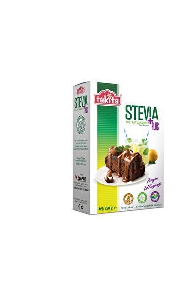 Stevia Plus Toz Tatlandırıcı 250 Gr