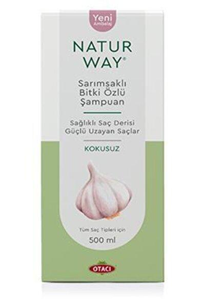 Naturway Sarımsaklı Şampuan Kokusuz 500 ml