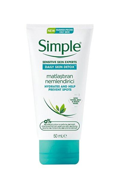 Daily Skin Detox Yağlı/Karma Ciltler İçin Kekik Özlü Matlaştıran Nemlendirici 50 ml