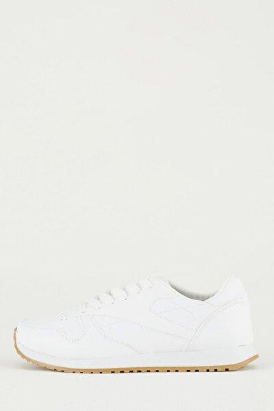 Bağcıklı Sneaker SporAyakkabı
