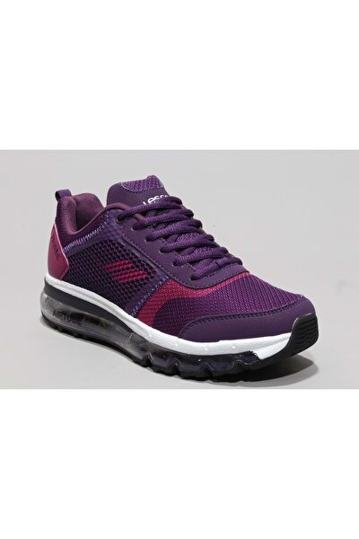 Kadın Mor Yürüyüş Ayakkabısı  6107