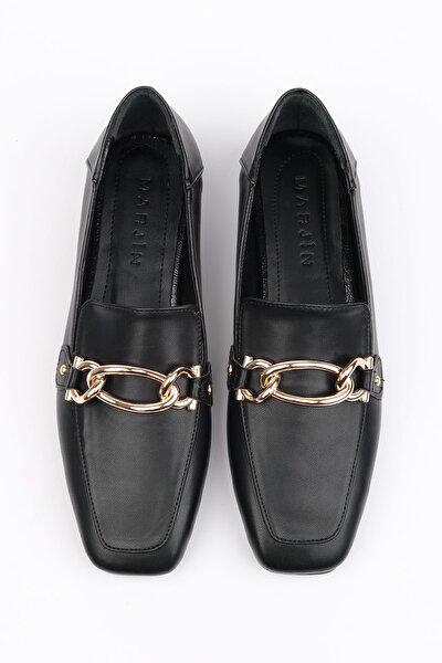 Kadın Siyah Loafer Ayakkabı Nisay