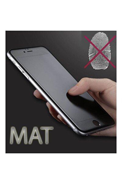 Iphone 7 Plus Mat Kırılmaz Cam Nano Parmak Izi Bırakmaz Siyah