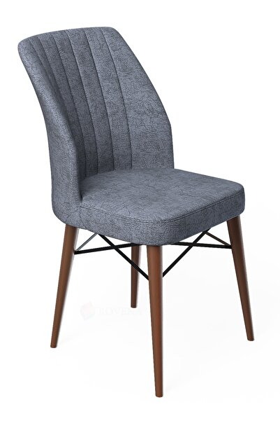 Liva Serisi Üst Ceviz Gürgen Ayaklı Sandalye