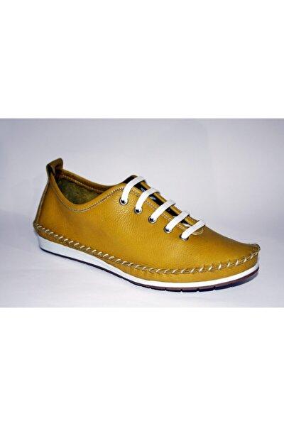 Kadın Sarı Yazlık Ayakkabı
