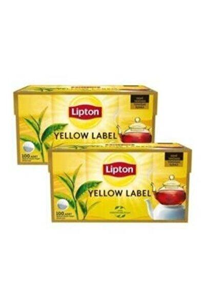 Yellow Label Demlik Poşet Çay 100'lü X 2
