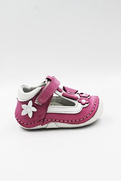 Anatomik Hakiki Deri Ilk Adım Bebek Ayakkabısı Eylül77pembe