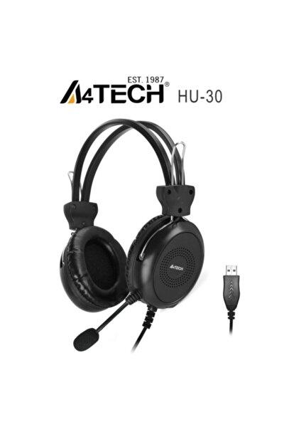 Hu-30 Mikrofonlu Kulaklık Usb Siyah