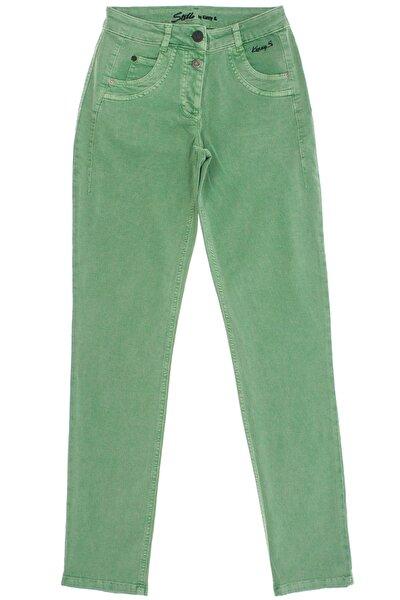 Yeşil Slim Fit Pantolon