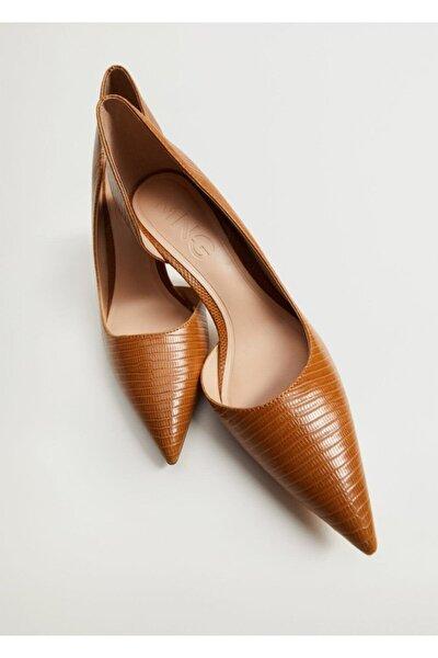 Asimetrik Stiletto Ayakkabı