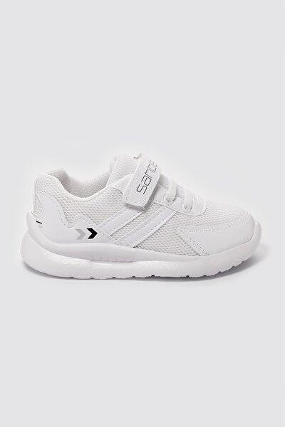 Unisex Çocuk Beyaz Günlük Spor Ayakkabı