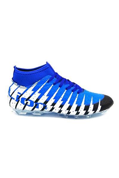 1453 Sax Mavi Krampon Futbol Ayakkabısı