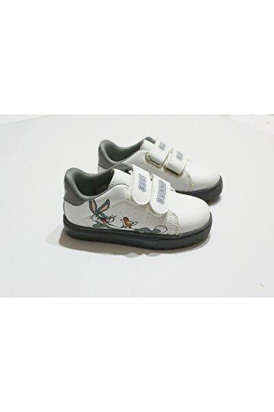 Unisex Çocuk Bugs Bunny Baskılı Spor Ayakkabı