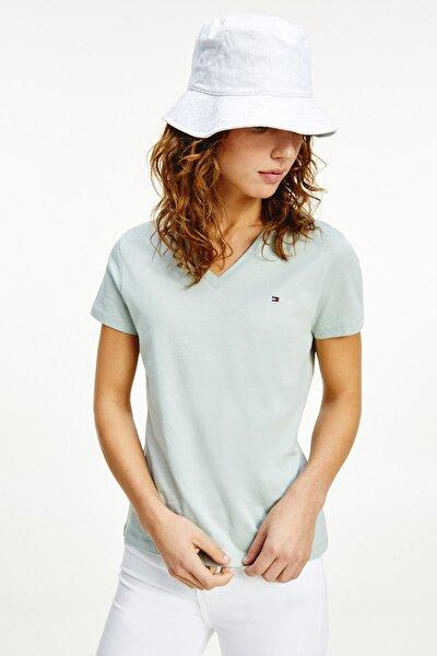 Kadın T-Shirt NEW V-NECK TEE WW0WW27736
